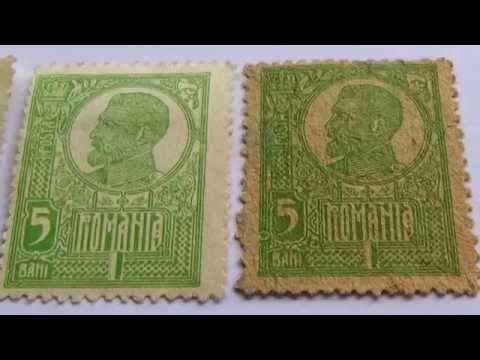 Rare Romania Postage Stamp Collection