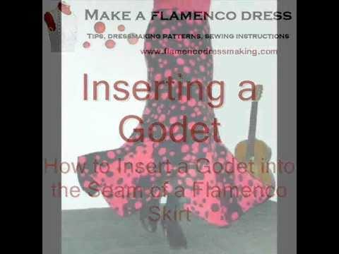 11376974ad4d How to Make a Flamenco Skirt or Dress | HobbyLark