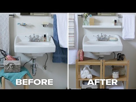 Crafts To Give Your Bathroom A New Feel