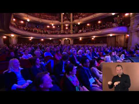 TEDxAmsterdam Award Ceremony | Jim Stolze | TEDxAmsterdam 2014 (SIGN LANGUAGE)