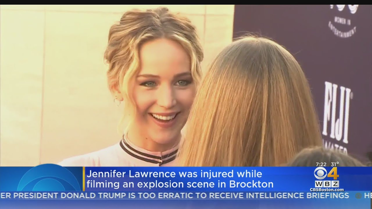 Jennifer Lawrence Hurt While On Movie Set In Brockton