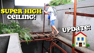 HIGH CEILING Update sa Dream House 🏠 + Gifts UNBOXING Part 2 🇵🇭