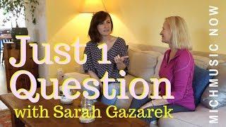 Just One Question: Sara Gazarek | MichMusic Now