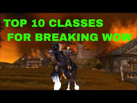Top 10 Ranked Classes For Exploits And Creative Game Mechanics, Best Class Abilities Legion 7.25