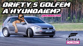 Drifty s Golfem 4 a Hyundaiem?! l @Rendolf l Gaming boy