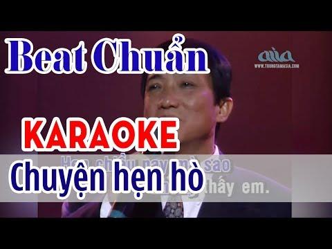 Chuyện Hẹn Hò Karaoke Tone Nam - Nhật Trường |  Asia Karaoke Beat Chuẩn