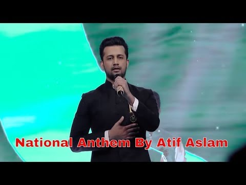 National Anthem 16th Lux Style Awards   Atif Aslam