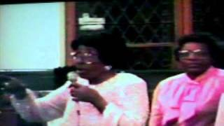 Sallie Martin In Phila sings God Put A Rainbow In The Sky in 1986