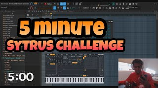 MAKING A BEAT IN 5 MINUTES USING SYTRUS (Fl Studio 20 Challenge)
