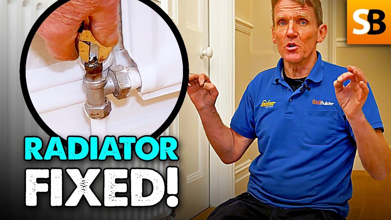 Radiator Not Getting Hot >> Radiator Not Getting Hot Plumbing Diy Youtube