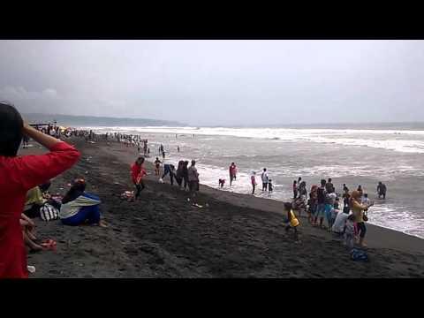 Depok Beach In Yogyakarta indonesia