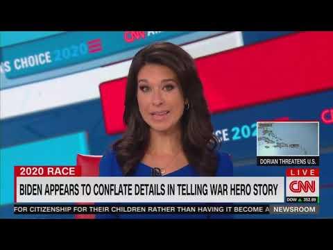 My word as a Biden': Joe Biden tells a false war story on