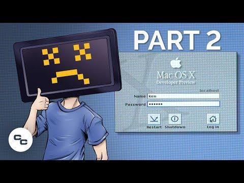 Mac OS X 10.0 Developer Preview Installation Sensation (Part 2) - Krazy Ken's Tech Misadventures