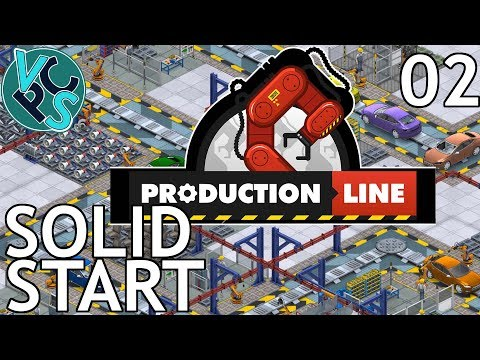 Production Line EP02 - Solid Start - Alpha 1.43 Manufacturing Tycoon Gameplay