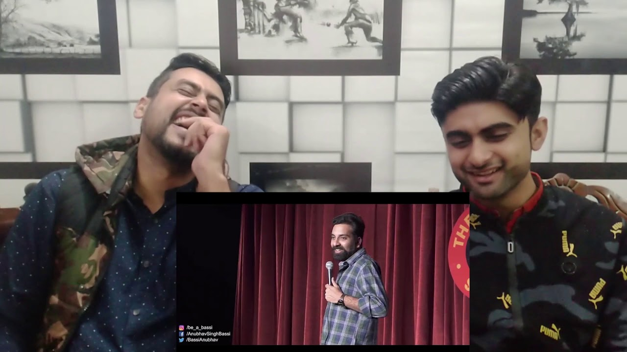 Pakistani Reaction To | Hostel - Stand Up Comedy ft. Anubhav Singh Bassi | REACTION