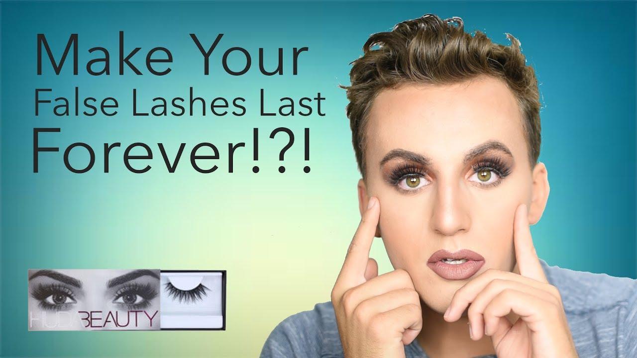 How To Take Care Clean And Reuse False Lashes Make False Lashes