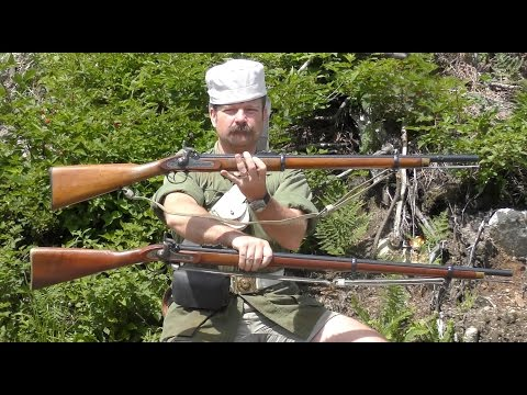The P53 Enfield Rifle-Musket and P61 Army Short Rifle: A Shoot Off