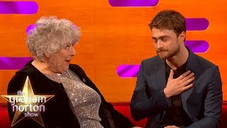 Daniel Radcliffe & Miriam Margolyes Reflect On 20th Anniversary of Filming Harry Potter