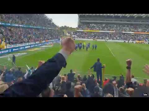 2018-2019 - Club Brugge-Anderlecht - Feestje Na De Overwinning