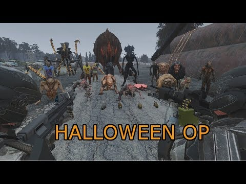 Halloween Xenos.Spooky Halloween Patrol With Mutants Xenos Bugs And Zombies Zeus Ops