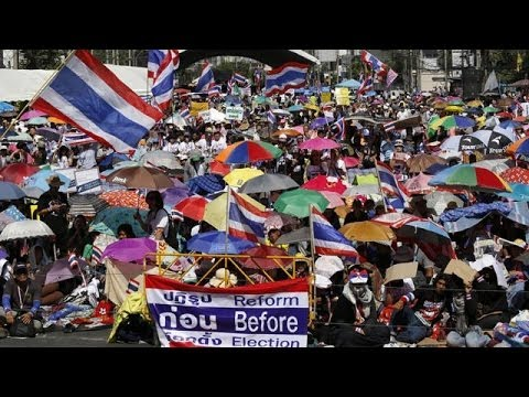 Thai protesters attempt to shut down capital Bangkok