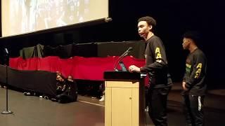skyline black history month assembly