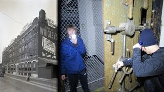 ABANDONED Wrigley Gum Factory | FOUND a VAULT! (ROOF ACCESS)