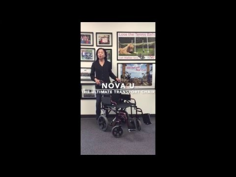NOVA U - The Ultimate Transport Chair