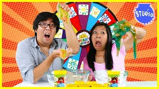 Baixar 3 Color Slime Challenge Mystery Wheel!!!!