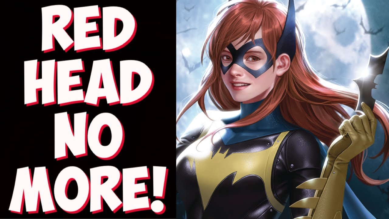 Another one bites the dust! Upcoming Batgirl movie DUMPS red hair for progressive upgrade?!