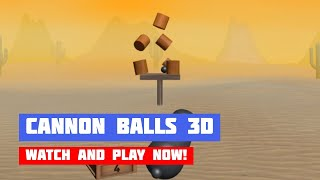 Cannon Balls 3D · Game · Gameplay