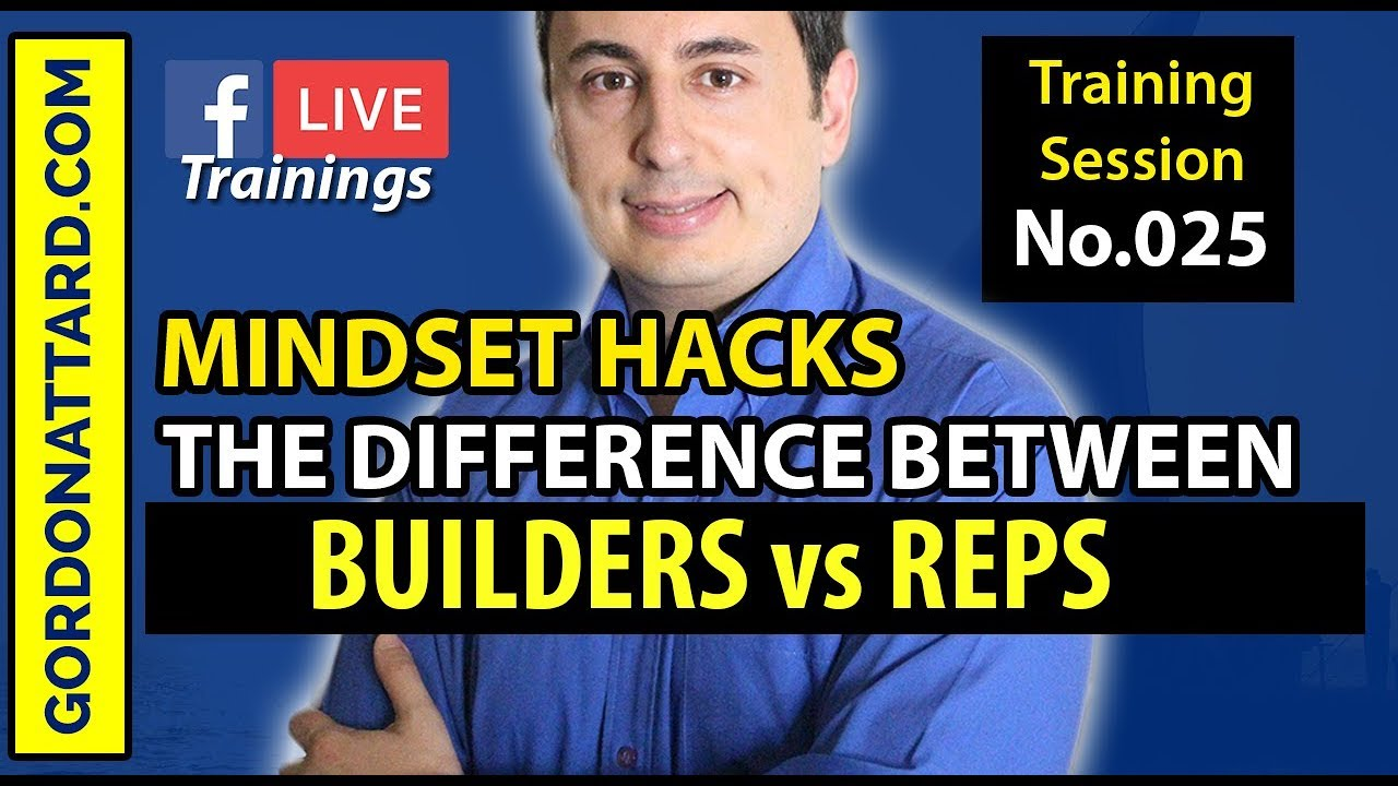 MINDSET HACKS: Builders vs Reps