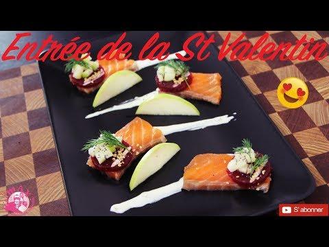 entrée-de-la-st-valentin-💝-gravlax-de-saumon-sauce-raifort-une-recette-simple-rapide-&-originale-😋