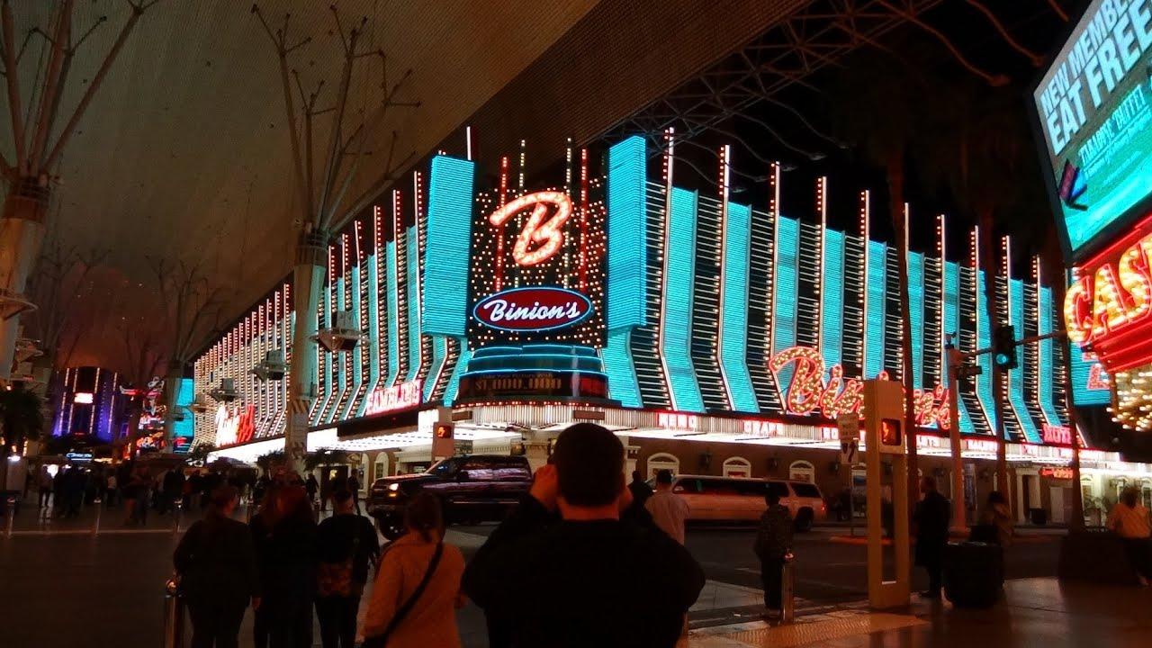Las Vegas Nevada Trip Hotel Taxi Ride Down Town Fremont Street Experiance City Lights The Orleans You