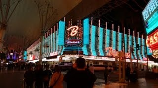 Las Vegas Nevada Trip Hotel Taxi Ride Down Town Fremont Street Experiance City Lights The Orleans
