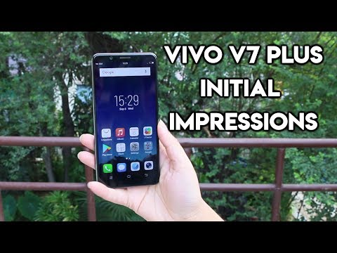 Vivo  V7 Plus Unboxing & Initial Impressions | Infinity Display, 24MP Selfie Camera & Price in India