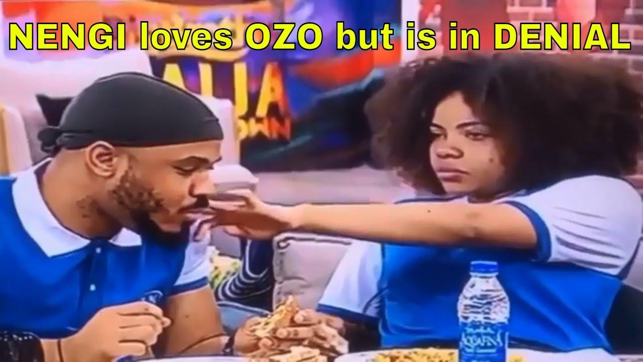 NENGI LIKES OZO BUT KEEPS DENYING- Watch NENGI Caring for OZO