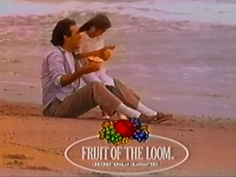 Fruit Of The Loom We Fit America 1988 TV Commercial HD