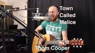Town Called Malice by The Jam acoustic cover from Thom Cooper