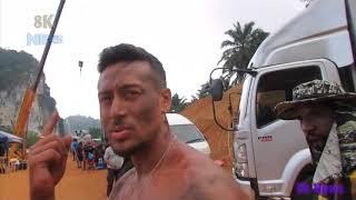 Baaghi 2 : real shot : behind the sean : Tiger shroff : baghi 2 original shooting 8k news