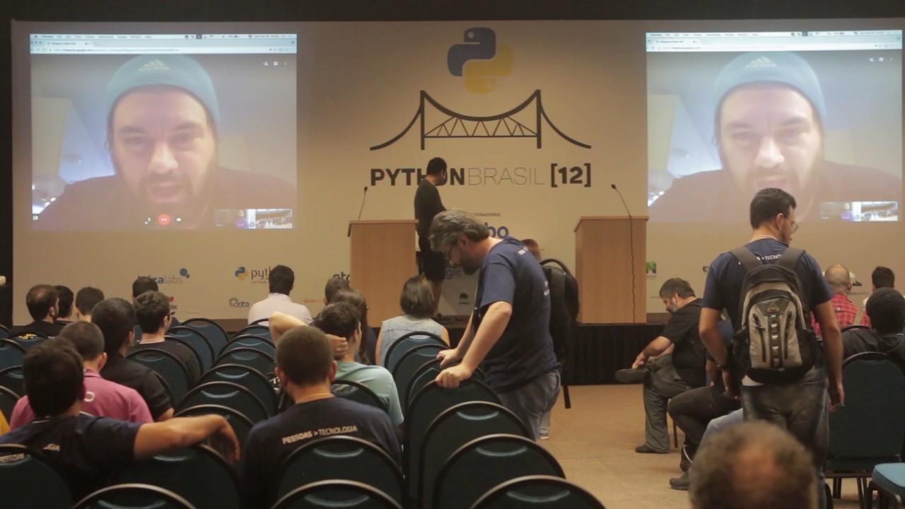 Image from Vídeo conferencia com Érico Andrei e Rodolpho Eckhardt
