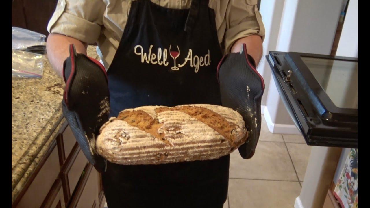 Einkorn Olive Rosemary Bread