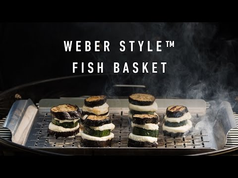 The Weber Style Fish Basket - Perfect For Veg, Sides & Fish