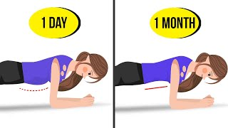 Only 3 Steps Of This Exercise Will Tighten Your Belly in 1 Month | How To Lose Belly Fat At Home