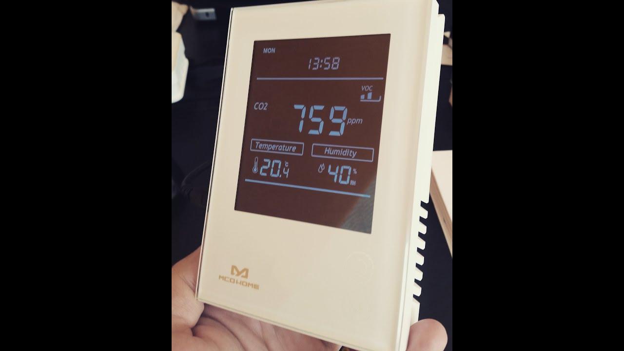 Mcohome Co2 Sensor Fibaro Home Center 2 Integration Youtube