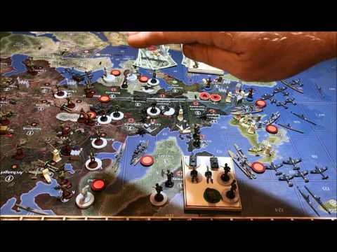 """Axis & Allies 1940 Global Germany Strategy Sired style.. """"The Cobra Kai"""""""