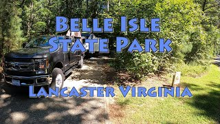 Belle Isle State Pąrk Virginia Campground