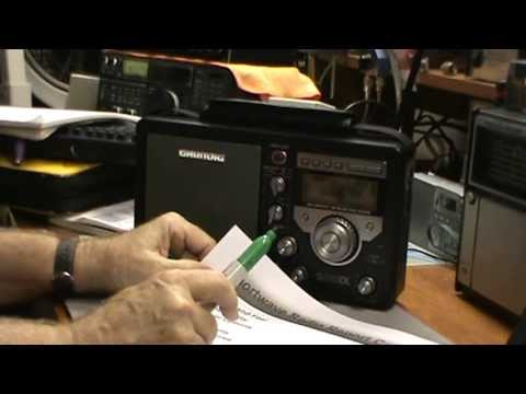 TRRS #0121 - Grundig S350DL Shortwave Radio Review Part 2 of 2 - Report Card