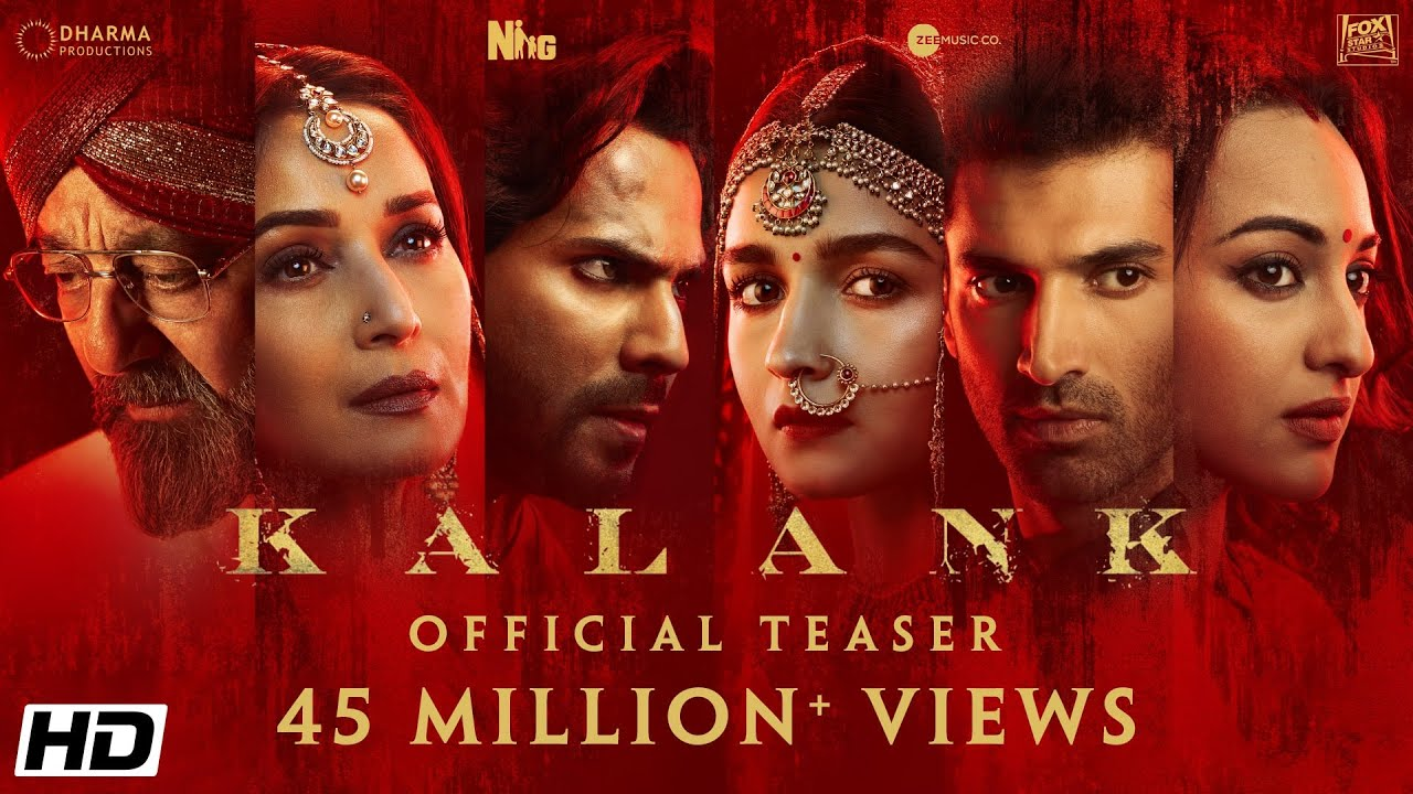 Kalank (2019) Movie Blueray Leaked on Tamilrockers