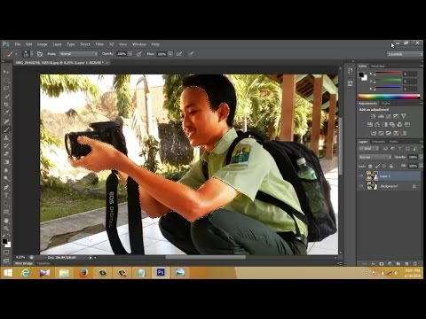 "Improve photos (Menyempurnakan hasil foto) ""Very Clearly & Simple"" with photoshop CS6"
